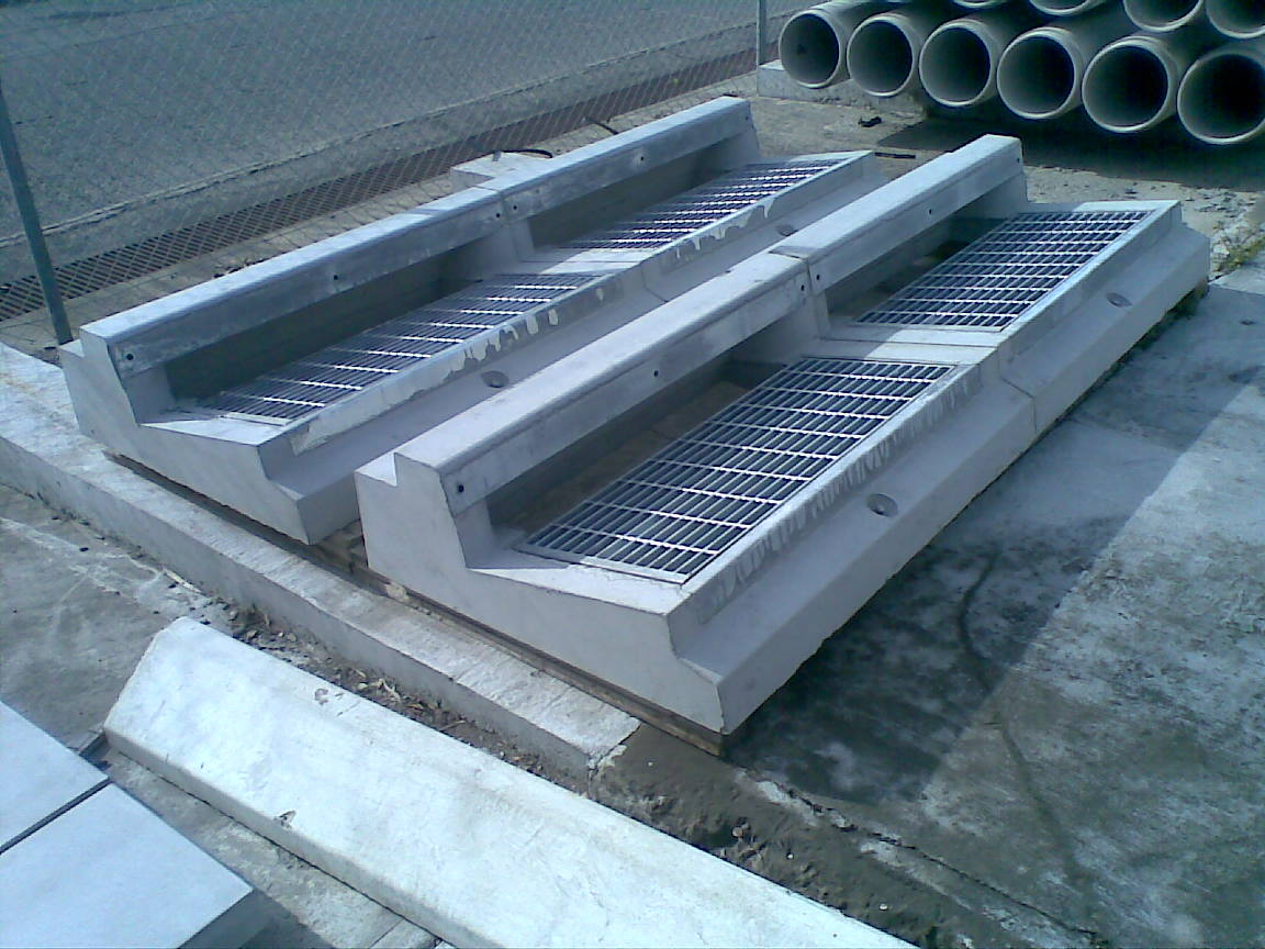 Double Grated Lintel